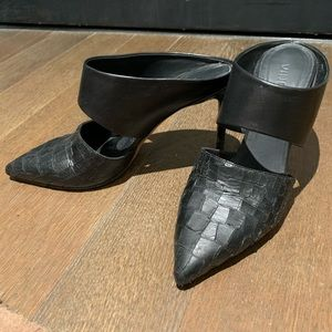 Vince Corrine Leather Slip On